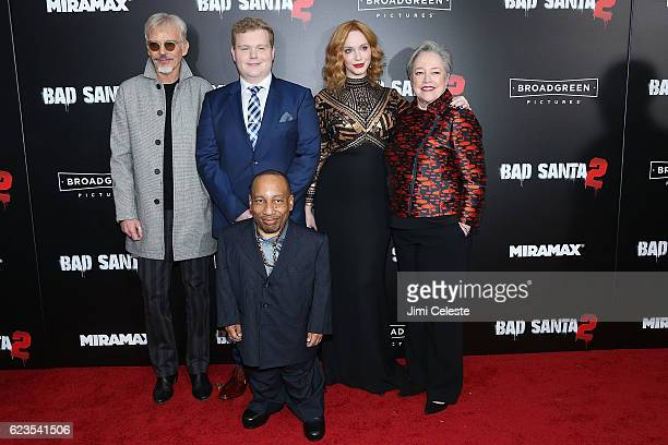 Cast Billy Bob Thornton Brett Kelly Tony Cox Christina Hendricks and Kathy Bates attend the New York Premiere of Broad Green Pictures and Miramax's...