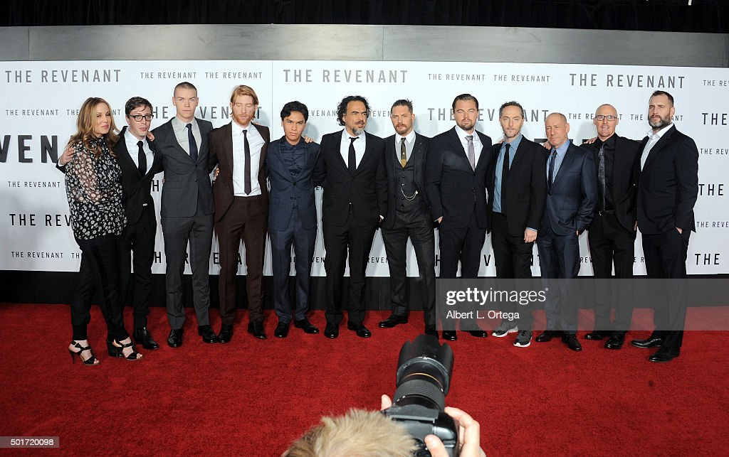 Cast & Crew arrive for the premiere of 20th Century Fox And Regency Enterprises' 'The Revenant' held at TCL Chinese Theatre on December 16, 2015 in Hollywood, California.