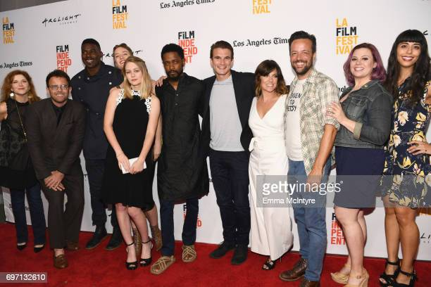 Cast crew attend the 'Izzy Gets The Fuck Across Town' and 'Ok Call Me Back' Premieres during the 2017 Los Angeles Film Festival at Arclight Cinemas...