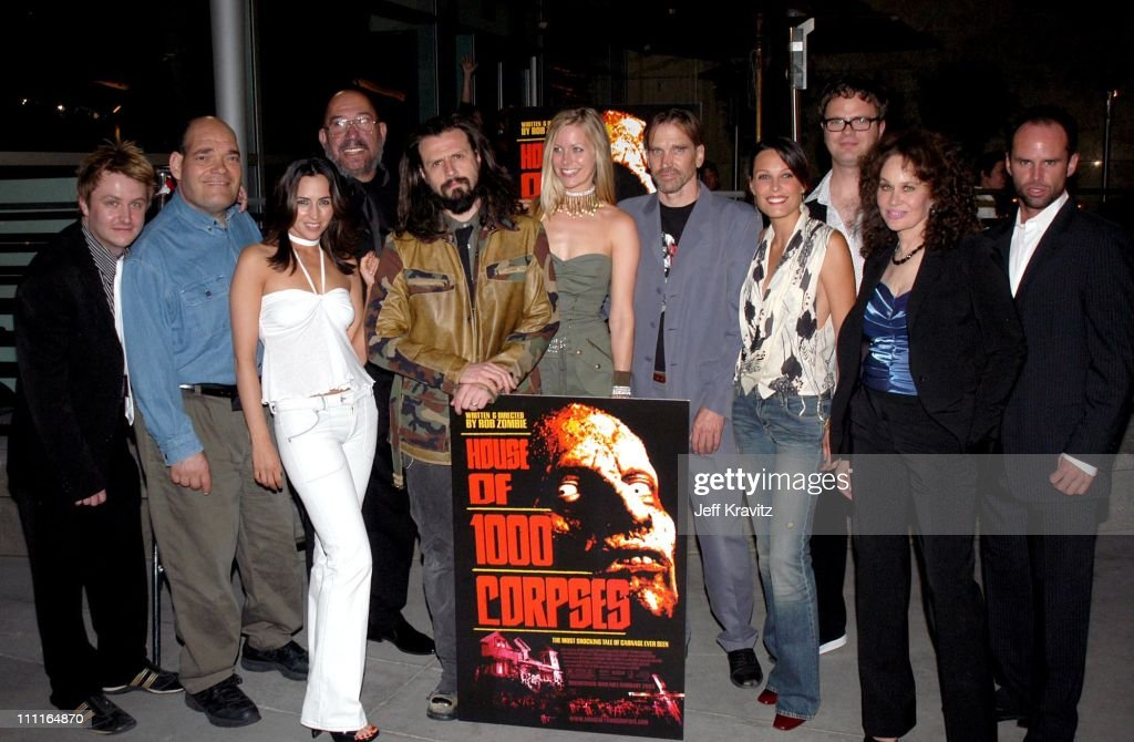 Cast during LionsGate Films' 'House of 1000 Corpses' Premiere at ArcLight Cinemas in Hollywood, CA, United States.