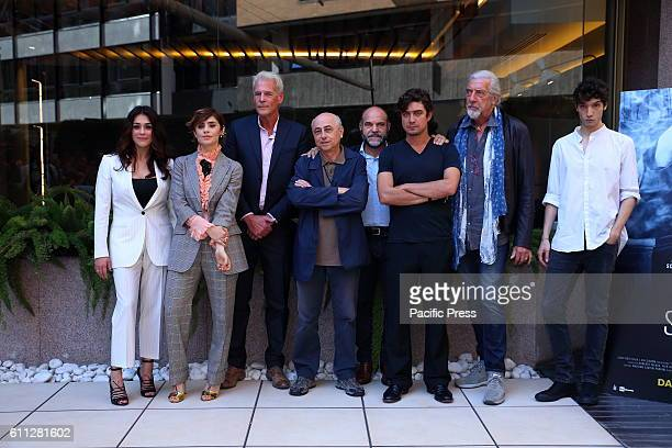 Cast during photocall of 'La Verità sta in cielo' a film by Roberto Faenza based on the story of Emanuela Orlandi