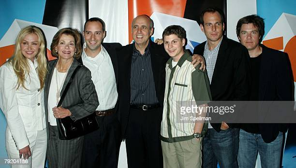 Cast from 'Arrested Development' Portia de Rossi Jessica Walter Tony Hale Jeffrey Tambor Michael Cera Will Arnett and Jason Bateman