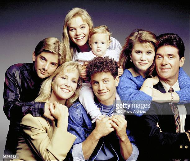 PAINS cast gallery Season Five 9/20/89 Jeremy Miller Joanna Kerns Julie McCullough Kristen/Kelsey Dohring Kirk Cameron Tracey Gold Alan Thicke