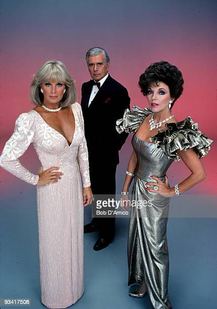 DYNASTY cast gallery Season Four 10/4/83 Linda Evans John Forsythe Joan Collins