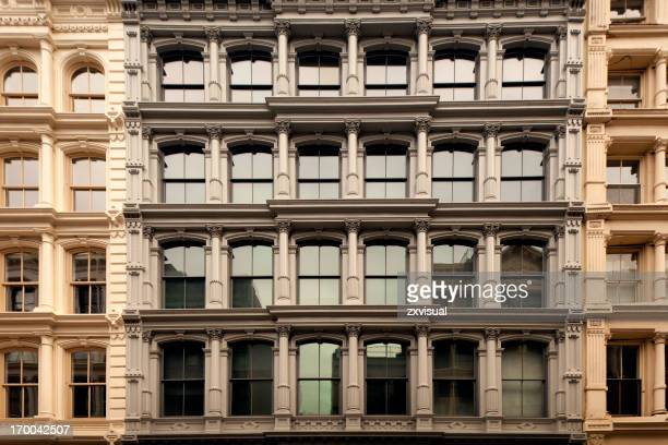 Cast Iron Buildings in Soho New York City