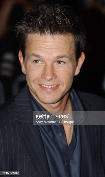 Cast member actor Mark Wahlberg arrives for the UK film premiere of The Italian Job at the Empire Leicester Square in London