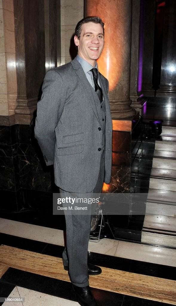 Cast member Adam Cooper attends an after party celebrating the press night performance of 'Singing In The Rain' at Freemasons Hall on February 15, 2012 in London, England.