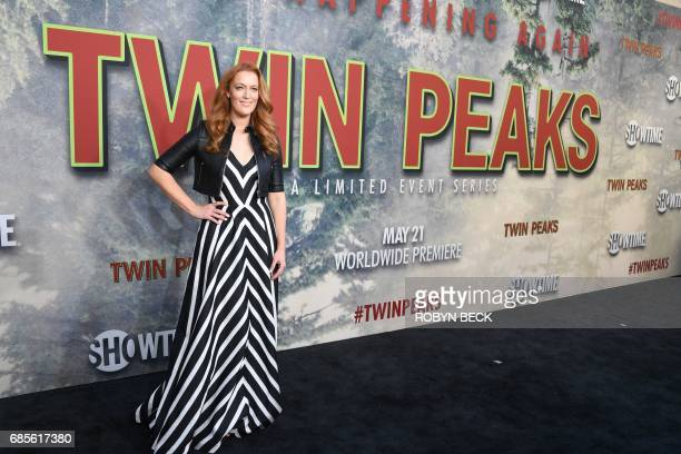 Cast member Adele Renee attends the world premiere of the Showtime limitedevent series 'Twin Peaks' May 19 2017 at the Ace Hotel in Los Angeles...
