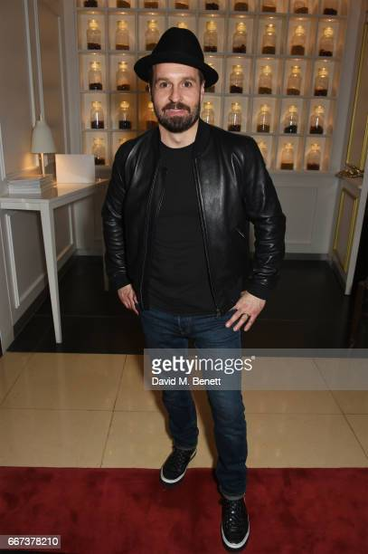 Cast member Alfie Boe attends the press night after party for the English National Opera's production of Rodgers Hammerstein's 'Carousel' at St...