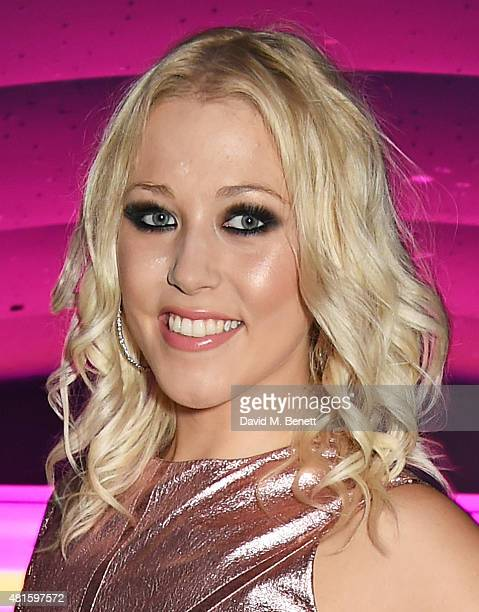 Cast member Amelia Lily attends an after party following the press night performance of 'American Idiot' at The Haymarket Hotel on July 22 2015 in...
