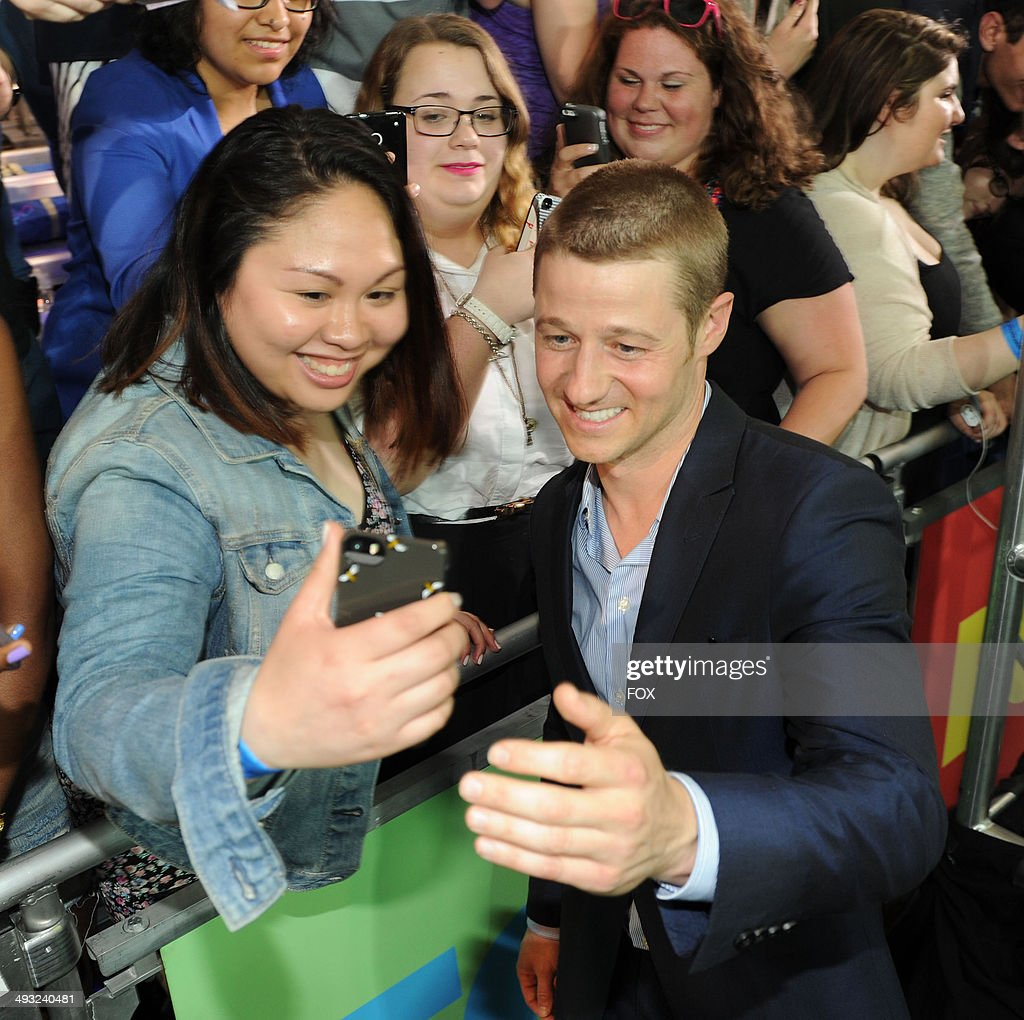 GOTHAM cast member Ben McKenzie during the FOX 2014 FANFRONT event at The Beacon Theatre in NY on Monday, May 12, 2014.