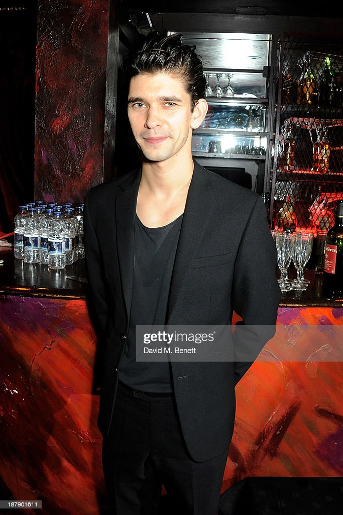 Cast member Ben Whishaw attends an after party celebrating the press night performance of 'Mojo' at Cafe de Paris on November 13, 2013 in London, England.