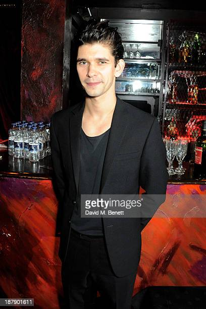 Cast member Ben Whishaw attends an after party celebrating the press night performance of 'Mojo' at Cafe de Paris on November 13 2013 in London...