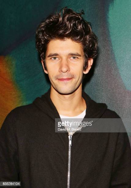 Cast member Ben Whishaw attends the press night after party for 'Against' at The Almeida Theatre on August 18 2017 in London England