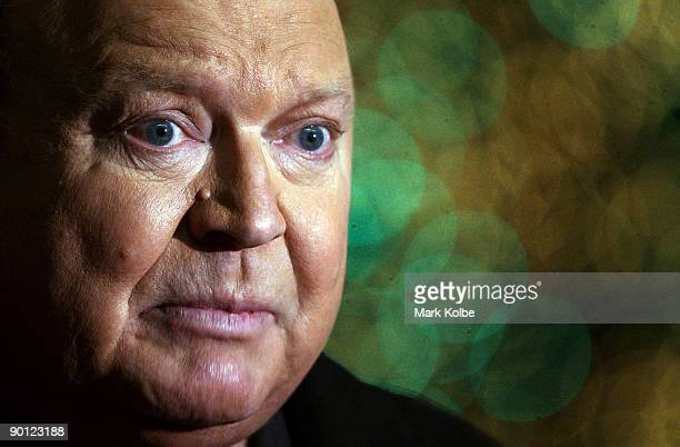 Cast member Bert Newton speaks to the media about the start of rehearsals ahead of the Sydney season of the musical 'Wicked' at the Capitol Theatre...