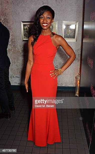 Cast member Beverley Knight attends the press night performance of 'Memphis The Musical' at The Floridita on October 23 2014 in London England