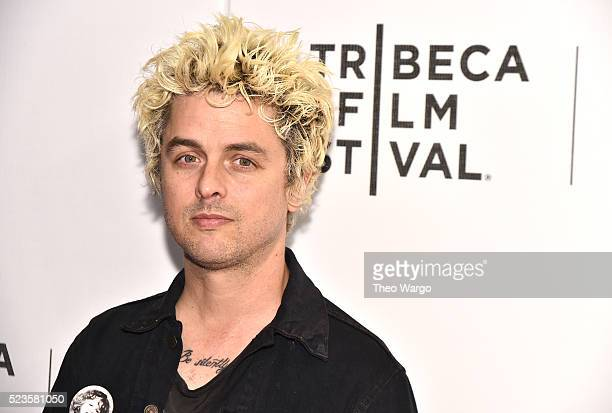 Cast member Billie Joe Armstrong attends 'Geezer' Premiere 2016 Tribeca Film Festival at Spring Studios on April 23 2016 in New York City