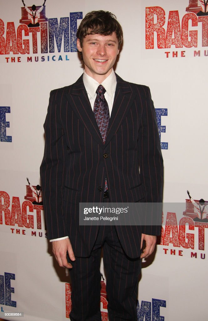 Cast member Bobby Steggert attends the after party for the Broadway opening of 'Ragtime' at the Tavern On The Green on November 15, 2009 in New York City.