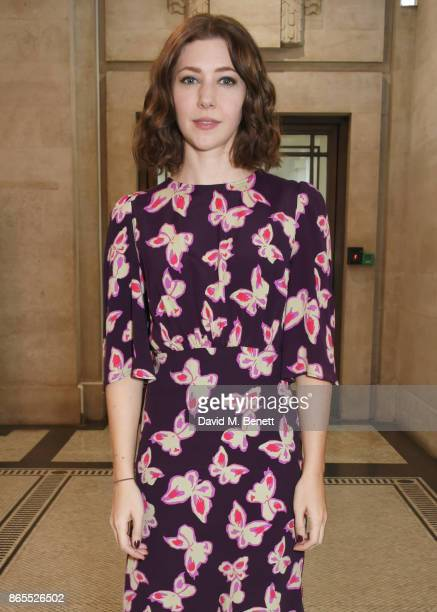 Cast member Catherine Steadman attends the press night after party for 'Witness For The Prosecution' at London County Hall on October 23 2017 in...