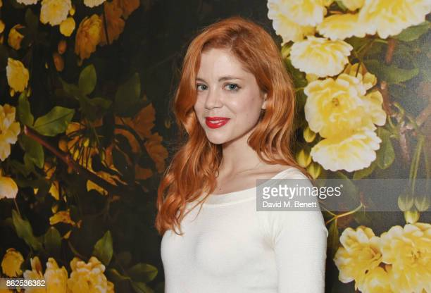 Cast member Charlotte Hope attends the press night performance of 'Albion' at The Almeida Theatre on October 17 2017 in London England