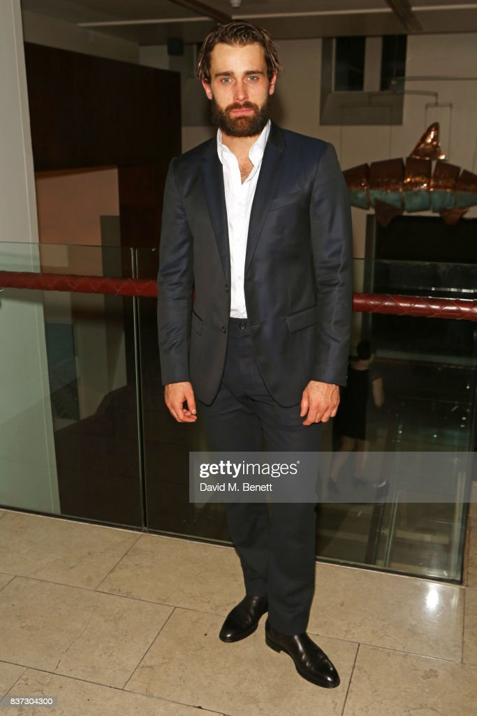 Cast member Christian Cooke attends the press night after party of 'Knives In Hens' at The Hospital Club on August 22, 2017 in London, England.