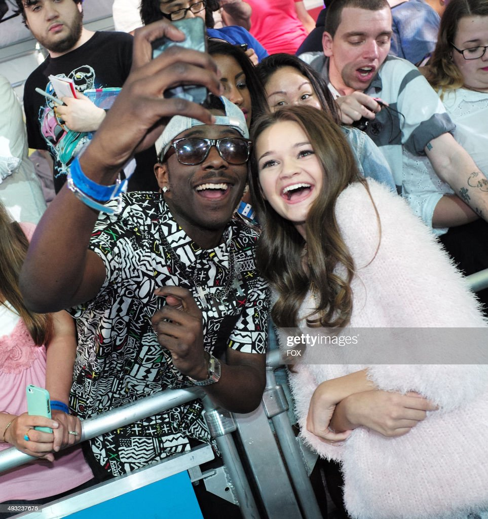SOCIETY cast member <a gi-track='captionPersonalityLinkClicked' href=/galleries/search?phrase=Ciara+Bravo&family=editorial&specificpeople=6567800 ng-click='$event.stopPropagation()'>Ciara Bravo</a> during the FOX 2014 FANFRONT event at The Beacon Theatre in NY on Monday, May 12, 2014.