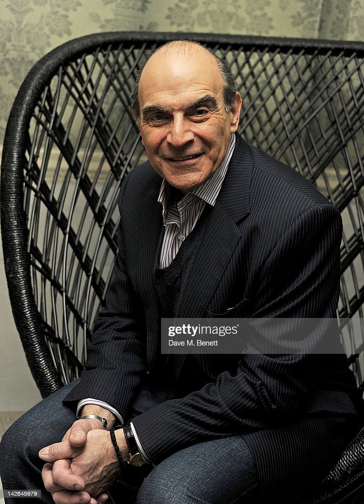 Cast member David Suchet attends an after party celebrating the press night performance of 'Long Day's Journey Into Night', playing at The Apollo Theatre, at Kettner's on April 10, 2012 in London, England.