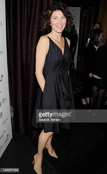 Cast member Eve Best attends an after party celebrating the press night performance of 'The Duchess of Malfi' at Baltic Restaurant on March 28 2012...