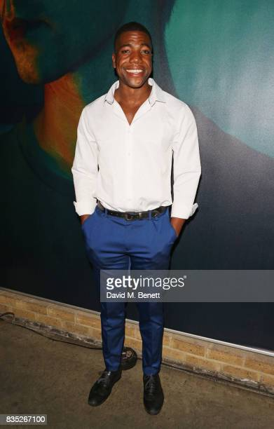 Cast member Fehinti Balogun attends the press night after party for 'Against' at The Almeida Theatre on August 18 2017 in London England