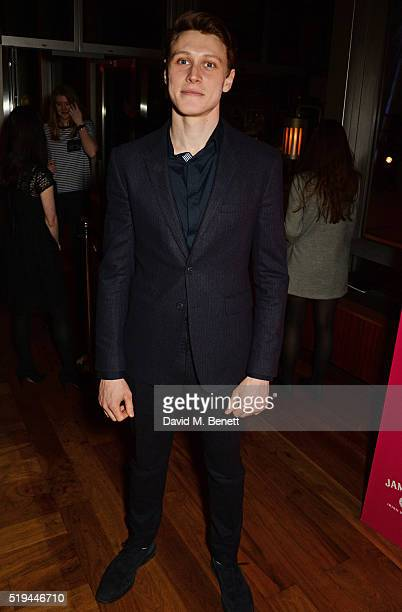 Cast member George Mackay attends the press night after party of 'The Caretaker' at Skylon on April 6 2016 in London England
