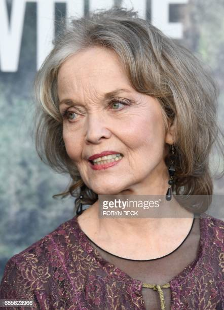 Cast member Grace Zabriskie attends the world premiere of the Showtime limitedevent series 'Twin Peaks' May 19 2017 at the Ace Hotel in Los Angeles...