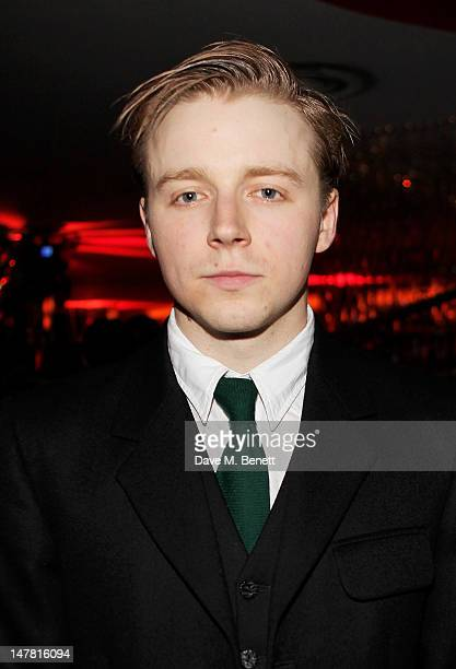 Cast member Jack Lowden attends an after party celebrating the press night performance of 'Chariots Of Fire' at Floridita on July 3 2012 in London...