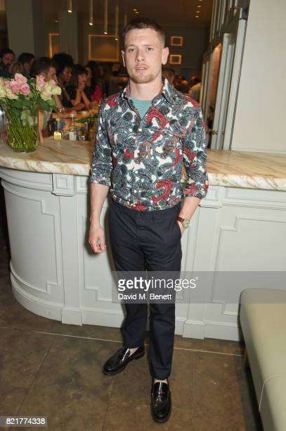 Cast member Jack O'Connell attends the press night after party for 'Cat On A Hot Tin Roof' at The National Cafe on July 24 2017 in London England