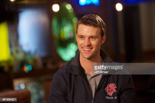 Cast member Jesse Spencer attends 'Top Dog' Winner Makes Cameo On 'Chicago Fire' on April 1 2014 in Chicago Illinois