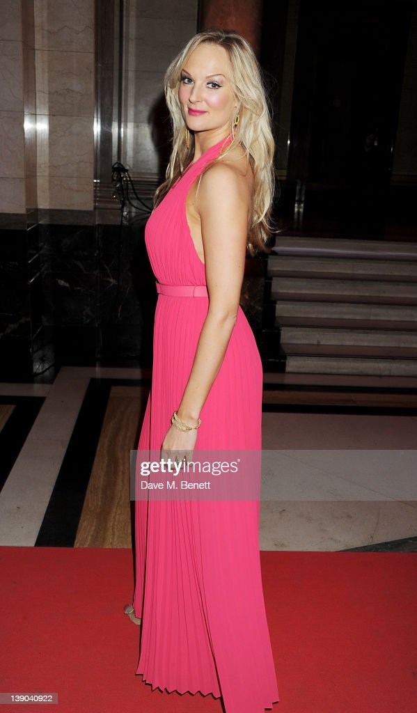 Cast member Katherine Kingsley attend an after party celebrating the press night performance of 'Singing In The Rain' at Freemasons Hall on February 15, 2012 in London, England.