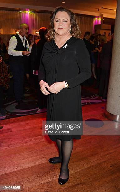 Cast member Kathleen Turner attends an after party following the press night performance of 'Bakersfield Mist' at the Trafalgar Hotel on May 27 2014...