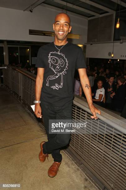 Cast member Kevin Harvey attends the press night after party for 'Against' at The Almeida Theatre on August 18 2017 in London England