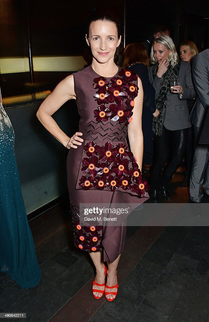 Cast member Kristin Davis attends an after party celebrating the press night performance of 'Fatal Attraction' at Mint Leaf Restaurant on March 25, 2014 in London, England.