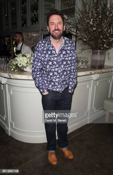 Cast member Lee Mack attends the press night after party for 'The Miser' at The National Portrait Gallery on March 10 2017 in London England