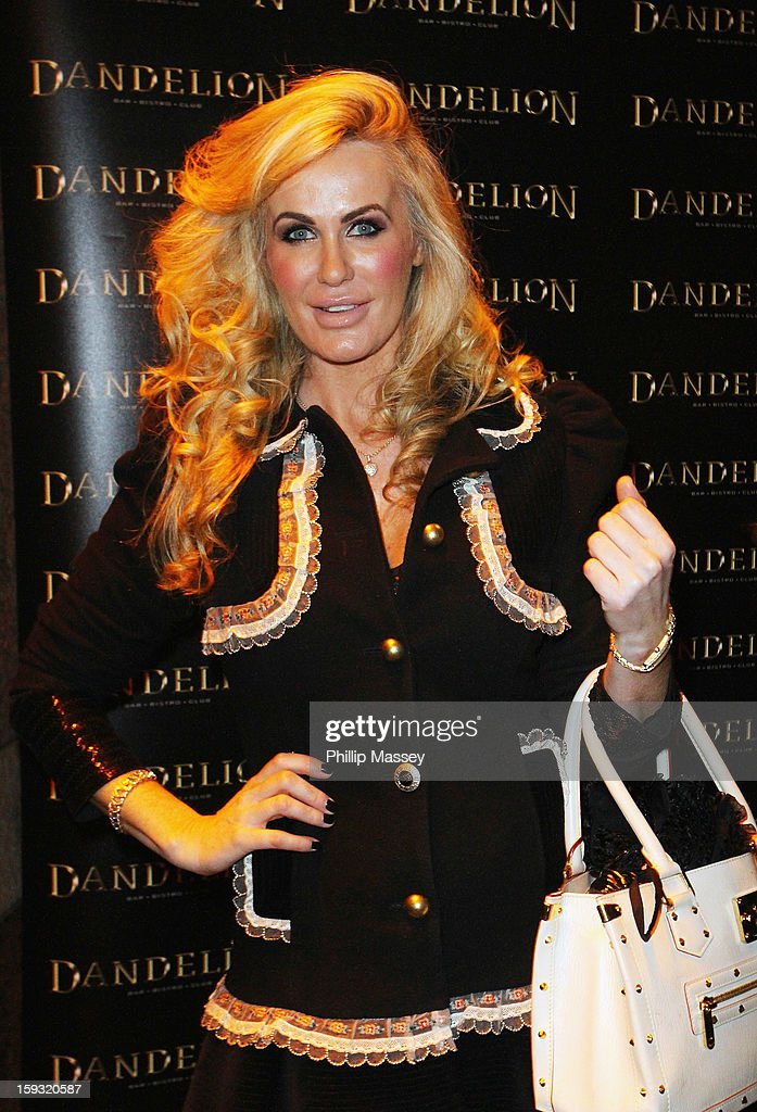 Cast member Lisa Murphy attends the wrap party for 'Dublin Wives' at Dandelion on January 11, 2013 in Dublin, Ireland.