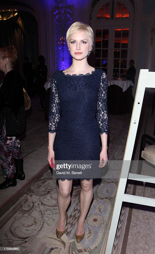 Cast member Louise Dylan attends an after party following the press night performance of The Old Vic's 'Sweet Bird of Youth' at The Savoy Hotel on June 12, 2013 in London, England.