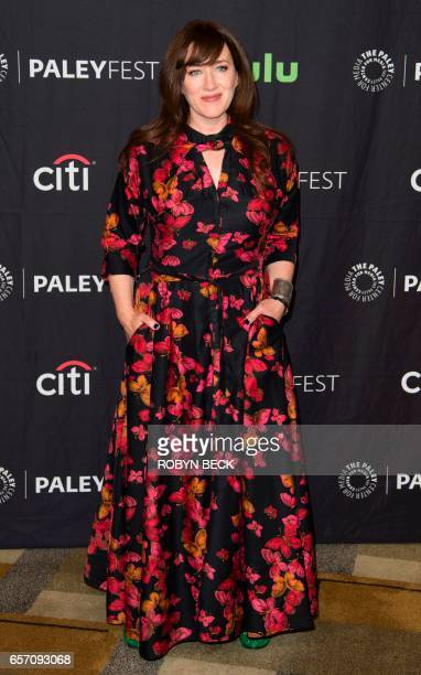 Cast member Maria Doyle Kennedy attends the Orphan Black red carpet during the 34th annual PaleyFest Los Angeles March 23 at the Dolby Theatre in...
