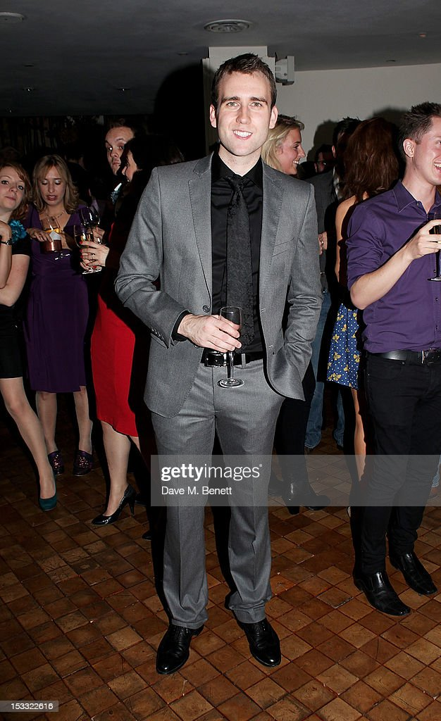 Cast member Matthew Lewis attends an after party celebrating the press night performance of 'Our Boys' at One Aldwych on October 3, 2012 in London, England.