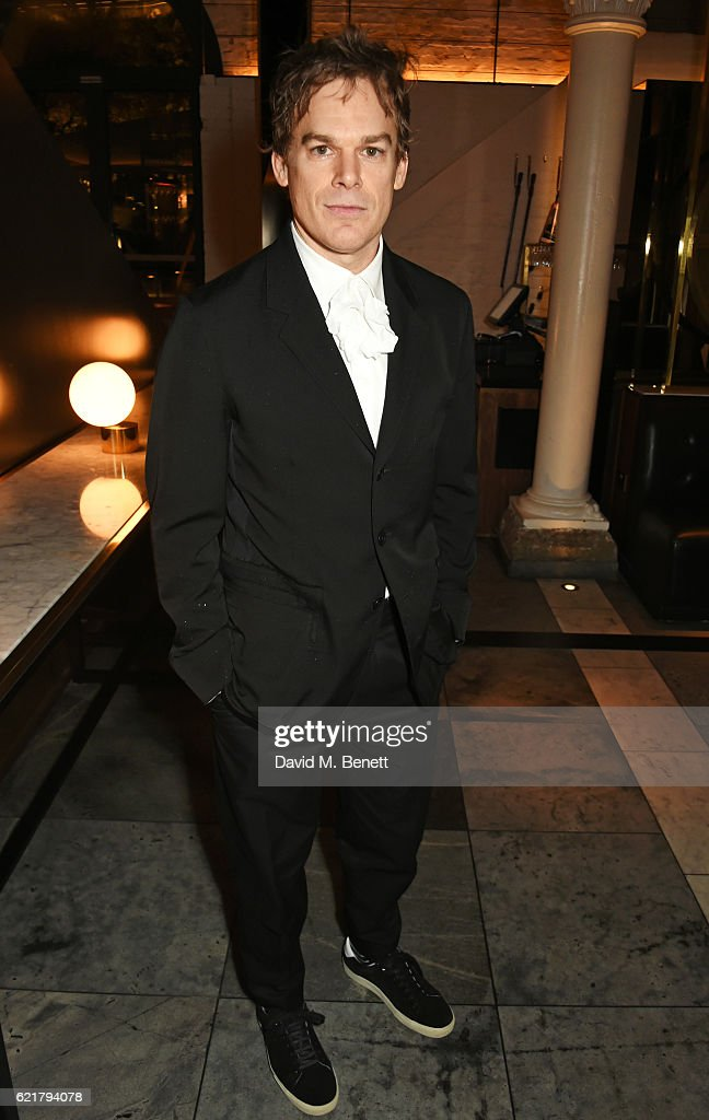 Cast member Michael C Hall attends the press night after party for 'Lazarus' at the King's Cross Theatre on November 8, 2016 in London, England.