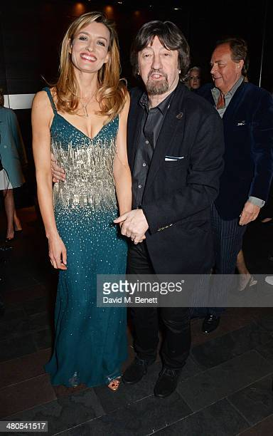 Cast member Natascha McElhone and director Sir Trevor Nunn attend an after party celebrating the press night performance of 'Fatal Attraction' at...