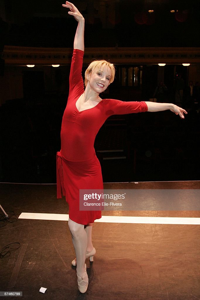 Cast member of 'A Chorus Line' Charlotte d' Amboise poses for photo on April 26 2006 in New York City