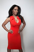 Cast member of 'Real Housewives of Atlanta' Kenya Moore is photographed for TV Guide Magazine on January 16 2015 in Pasadena California