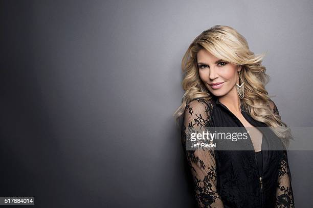 Cast member of 'Real Housewives of Beverly Hills' Brandi Glanville is photographed for TV Guide Magazine on January 16 2015 in Pasadena California