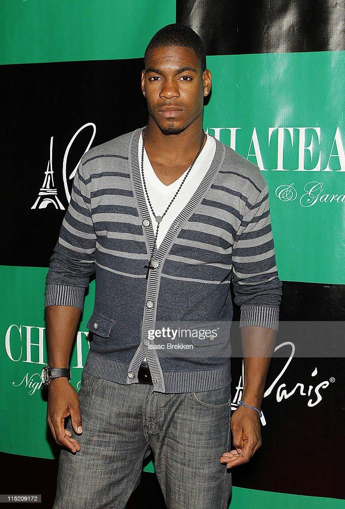 Las Vegas, Leroy Garrett, arrives at Chateau Nightclub & Gardens on June 3, 2011 in Las Vegas, Nevada.