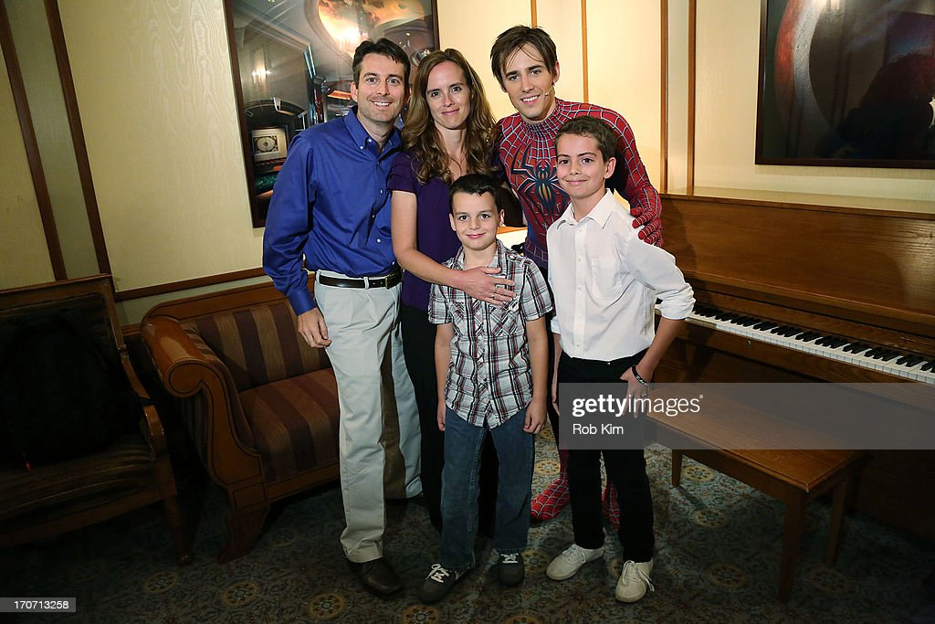 Cast member Reeve Carney during fan meet and greet in the ...